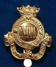 CANADA Armed Forces Princess Louise's VIII 8th Hussars metal cap badge