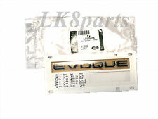 Genuine Range Rover Evoque Rear Tail Gate Badge Name Plate Emblem Black LR035433