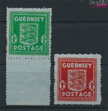 Guernesey (Allemand.occ.2.wk.) 4-5 neuf 1944 Timbre-poste (9077312