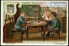 Children Physics Experiment Balance Vom Gleichgewicht 1903 Trade Ad Card g