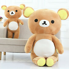 "13""/35cm Stuffed San-x Rilakkuma Relax Bear Pillow Plush Chic Trendy Brown Doll"
