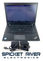 """READ - Lenovo ThinkPad T460S i7-6600U 2.60GHz 128GB SSD 8GB RAM 14"""" Win10 #58281"""
