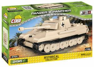 Cobi 2704 Panzer Panzer V Panther SCALE 1:48 Bausatz 296 Teile