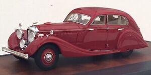 Matrix Models 1936 Bentley 4.5.Litre Gurney-Nutting Airflow Saloon Red.