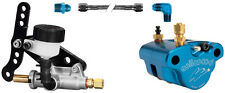 NEW WILWOOD KARTING BRAKE CALIPER,PADS, MASTER CYLINDER,& STEEL BRAIDED LINE,.12