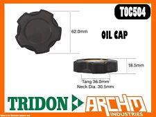 TRIDON TOC504 - OIL CAP - METAL BAYONET -  COVER ORIFICE ENGINE OIL SUPPLY
