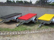 Flachplane Anhängeplane nach Maß bis 2.80 Meter  Lang  LKW Plane 680 gr/m²   Rot