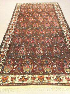 antico-swiss Beautiful Antique IndoBAKHTIARI rug  5`6 x10`3 ft