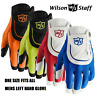 """WILSON STAFF """"FIT ALL"""" GOLF GLOVES - MENS LEFT HAND -CHOOSE THE COLOUR- ONE SIZE"""