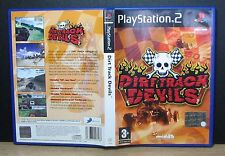 DIRT TRACK DEVILS - PS2 - PlayStation 2 - PAL - Italiano - Usato