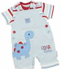 Conjuntos de ropa de niño de 0 a 24 meses de manga corta de 100% algodón
