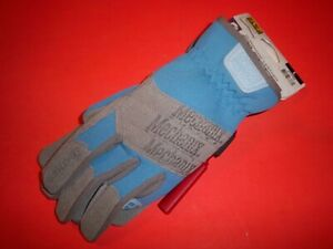 MECHANIX Fast Fit BLUE Work Gloves, Size Large 911755 FREE SHIPPING