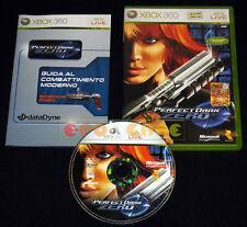 PERFECT DARK ZERO XBOX 360 Versione Ufficiale Italiana 1ª Edizione •••• COMPLETO