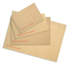 PLEASE DO NOT BEND HARD CARD BOARD BACKED ENVELOPES BROWN A3 /A4 /A5 /A6 MAILER
