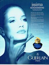 Publicité Advertising 058 1991   Guerlain cosmétiques  Issima sérénissime