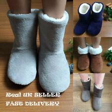 Slippers Womens Warm Indoor Slipper Boots Ladies Booties Girls size UK3-7