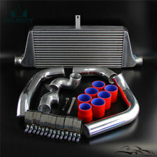 Tuning Front Mount Intercooler Kit Fit Toyota Chaser Mark II JZX90 JZX100 RED
