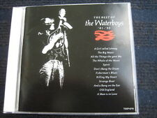 CD  THE WATERBOYS  The Best of  '81 - '90  Made in Japan Mike Scott incl. OBI