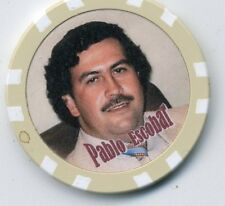PABLO ESCOBAR  GANGSTER  COLLECTOR CHIP