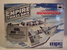 "1989 MPC/ERTL Sealed. The Empire Strikes Back. 8"" Luke Skywalker's Snowspeeder."