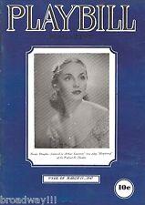 "Arthur Laurents ""HEARTSONG"" Susan Douglas / Shirley Booth 1947 Playbill Magazine"