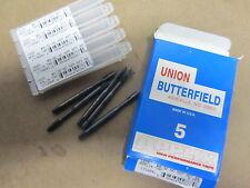 5 pcs UB UNION BUTTERFIELD 8-32 NC APPLIX Taps H2P Spiral Point 2 Flutes 1710941
