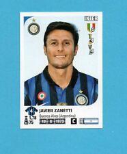 PANINI CALCIATORI 2011-2012-Figurina n.206- J.ZANETTI-INTER -NEW