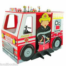 NEW Teamson Kids Fire Engine Table and Chair