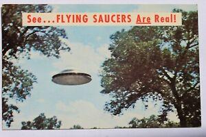 Postcard FLYING SAUSER EXTRATERRESTRIAL SPACESHIP, JUNE 16, 1963, ALBUQUERQUE NM