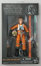 "Star Wars The Black Series #01 Luke Skywalker X-Wing Pilot 6"" Action Figure 2013"