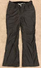 Sims Men's Size Xxl Waterproof Nylon Vented Ski Charcoal Snow Pants Inseam 33.5�