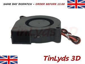 5015 Turbine Blower Cooling Fan 12V DC Radial Centrifugal Fan 3D Printer