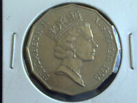AUSTRALIAN 50 CENT 1995 - CIRCULATED