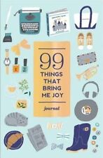 99 Things That Bring Me Joy (Guided Journal) (Journals), Abrams Noterie, Good, P