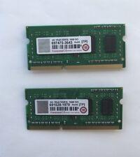 Transcend 4GBx2 Total 8gb Of Ram DDR3L 1600 SO-DIMM CL11 1Rx8