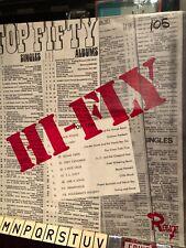 """Lp De Wolfe - rouge - library Uk """" hi-fly """" modern group sounds / breaks"""