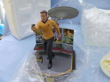 Hawthorne Village The Legends Of Star Trek Captain James Kirk Statue Limited Ed