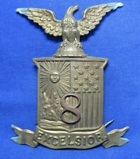 Civil War to Indian Wars 8th New York Infantry Hat Badge