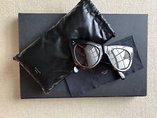 Celine Sunglasses Black Broen Tortershell With Case