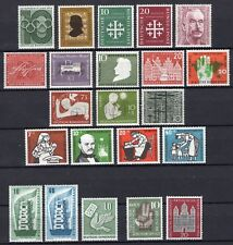 GERMANY - COMPLETE YEAR 1956 MINT NEVER HINGED