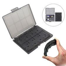 Black 18 in 1 Game Memory Card Holder Case Storage Box for Sony PS Vita PSV