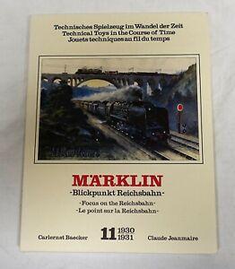 Märklin Buch Blickpunkt Reichsbahn Band 11 gebraucht gut