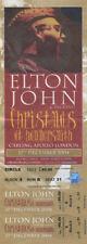 ELTON JOHN 2004 CHRISTMAS AT HAMMERSMITH UNUSED CONCERT TICKET
