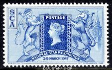 1947 National Stamp Exhibition 3rd - 9th March - Cinderella Stamp Unmounted Mint