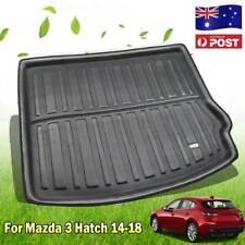 For Mazda 3 14-18 Axela Hatch Rear Trunk Mat Boot Liner Cargo Floor Tray Carpet