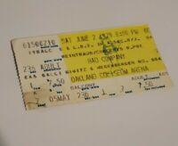 Bad Company Concert Ticket Stub Oakland Coliseum Arena June 2 1979 Vintage Tour