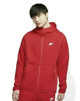 Nike Tech Fleece Windrunner Hoodie Sz XL University Red White New 928483 658