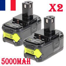 2x 18V 5000MAH Batterie Pour Ryobi One BPL18151 BPL1820 P104 P105 P107 P108 P109