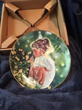 Ashley Treasured Days Plate Collection By Higgins Bond New W/Coa
