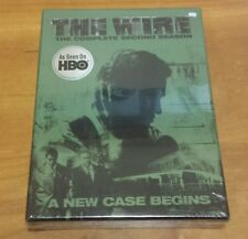The Wire: Complete Second Season (DVD, 5-Disc Set) 2 HBO tv show series NEW